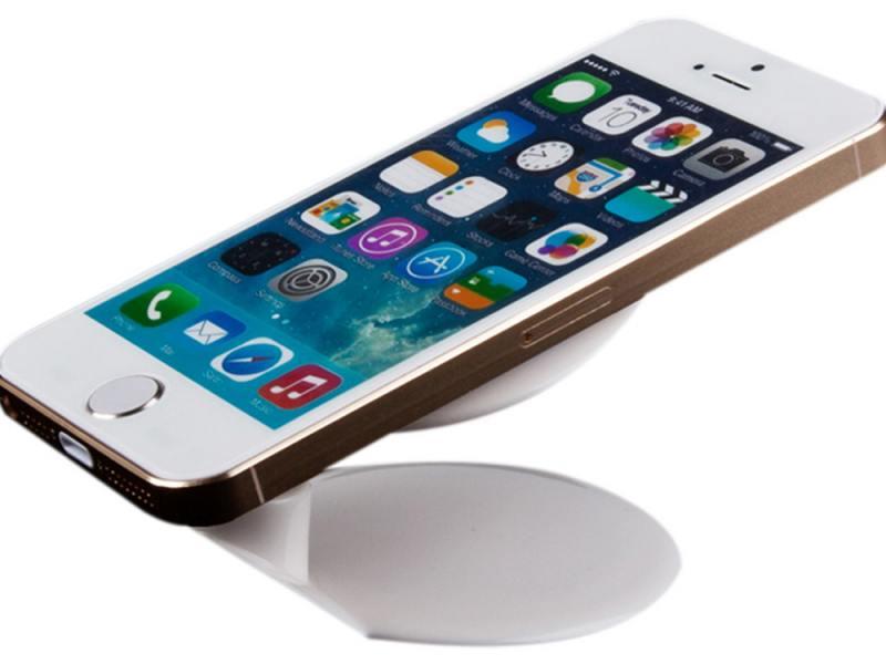 Автомобильный держатель для телефона LP универсальный на присоске белый/зеленый 04222 цена