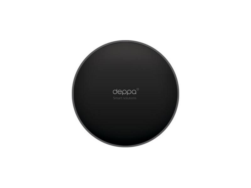 Картинка для Самоклеющийся диск Deppa для установки держателя на панель приборов,  ?82, черный