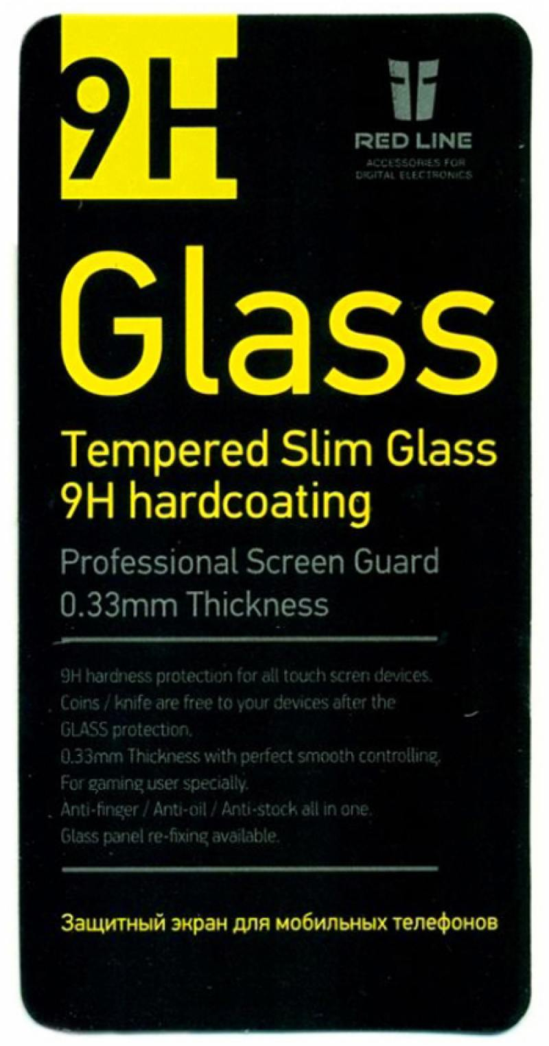 Защитное стекло Red Line для Microsoft Lumia 540 tempered glass sub2o1 red