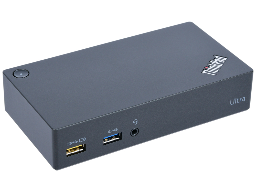 Док-станция Lenovo ThinkPad USB 3.0 Ultra Dock 40A80045EU док станция auzer android голубой