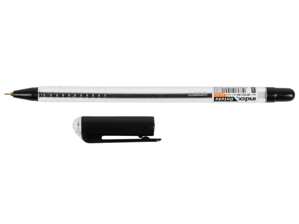 Шариковая ручка Index Ontake черный 0.7 мм IBP501/BK масляные чернила IBP501/BK festivals ne bk