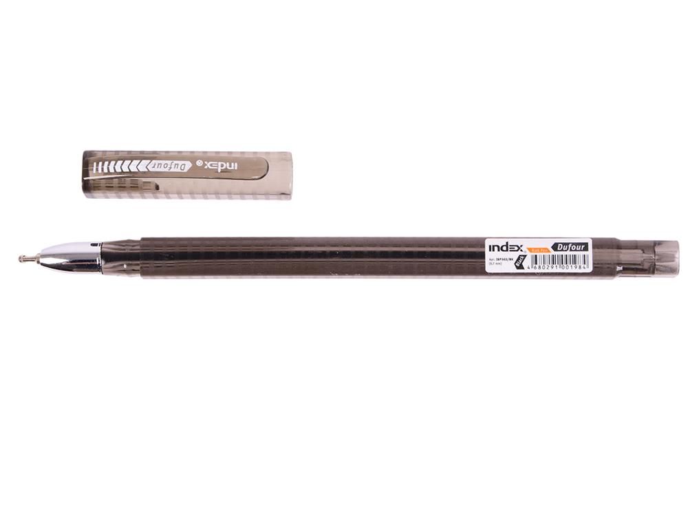 Шариковая ручка Index Dufour черный 0.7 мм IBP503/BK IBP503/BK шариковая ручка sponsor stp864 bk 0 7 мм stp864 bk