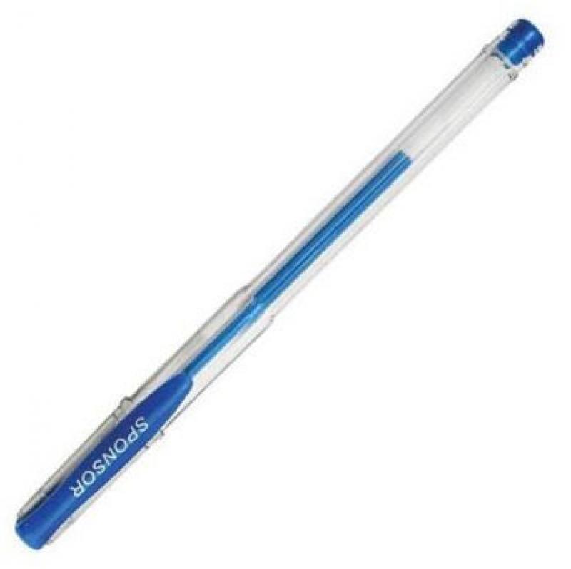 Гелевая ручка SPONSOR SGP01/BU синий 0.5 мм SGP01/BU ручка гелевая sponsor набор 6 цветов 6 штук в блистере
