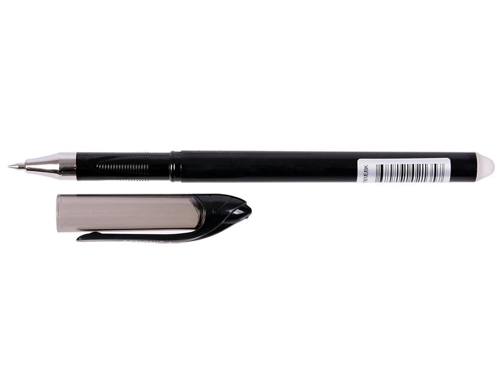 Гелевая ручка стираемая Action! AGP301/E/BK черный AGP301/E/BK кий cuetec action bk 2pc рп cr1102 bk