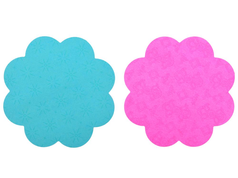 Бумага для заметок фигурная с липким слоем POST-IT ЦВЕТЫ, 2х75л 7350-DSY бумага для заметок с липким слоем 76х76 мм розовая пастель 450 л