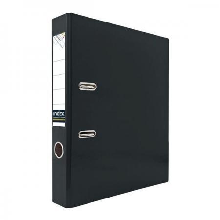 цена на Папка-регистратор из ламинированного картона, 50 мм, А4, черная IND 5 LA ЧЕР
