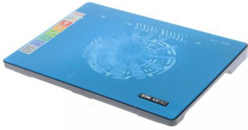 Подставка для ноутбука 15 Storm STM Laptop Cooling IP5 160x160 2xUSB синий подставка для ноутбука