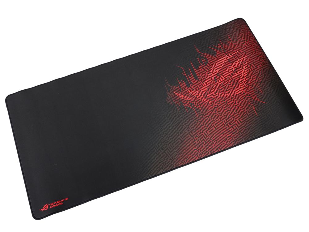 лучшая цена Коврик для мыши Asus ROG Sheath черный с рисунком 90MP00K1-B0UA00
