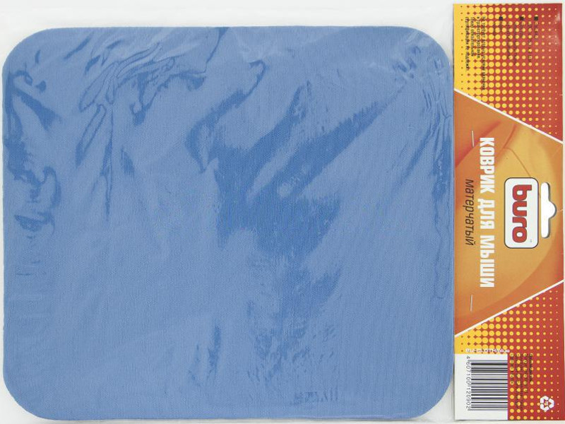 лучшая цена Коврик для мыши Buro BU-CLOTH/blue ткань синий