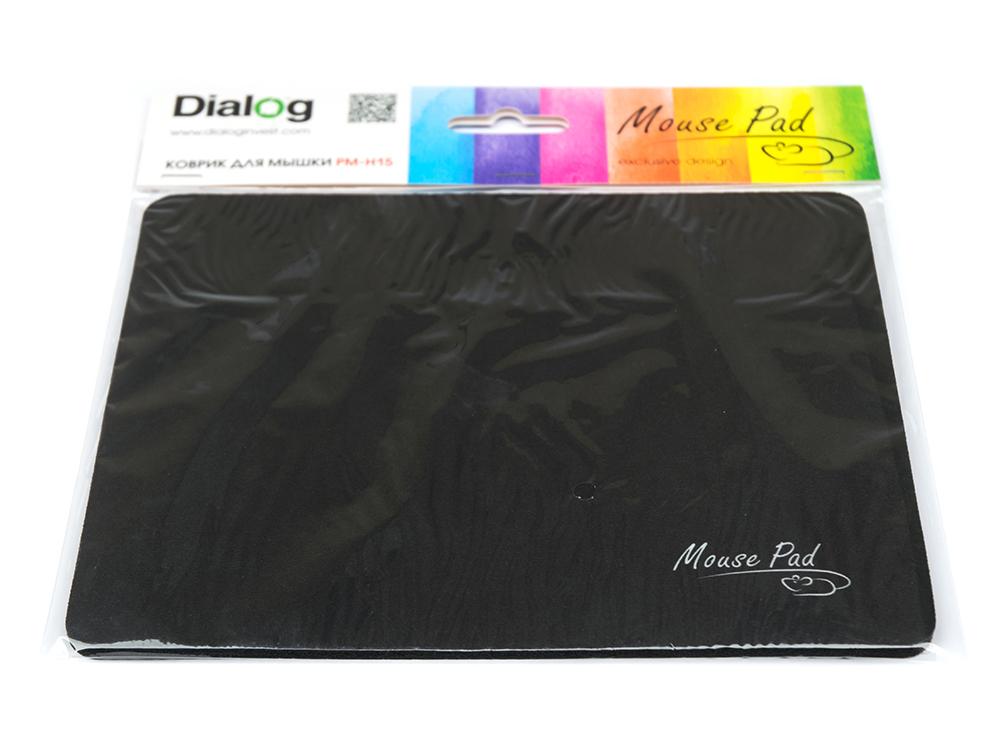 Коврик для мыши Dialog PM-H15 черный коврик противовибрационный shahintex 62х55см черный