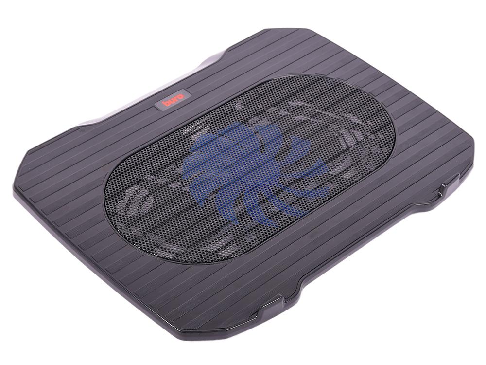 Подставка для ноутбука 15.6 Buro BU-LCP156-B114 металл/пластик 1000об/мин 20db черный подставка buro bu cs3al
