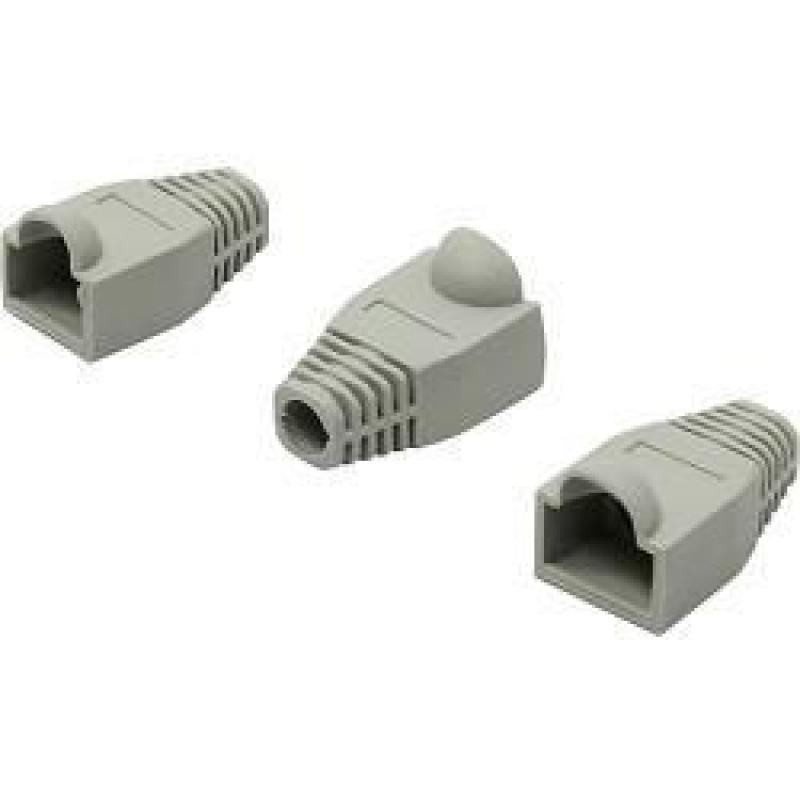 Колпачок RJ-45 серый 100шт 5bites US016-GY колпачок gembird для коннектора rj 45 blue bt5bl 5 100шт
