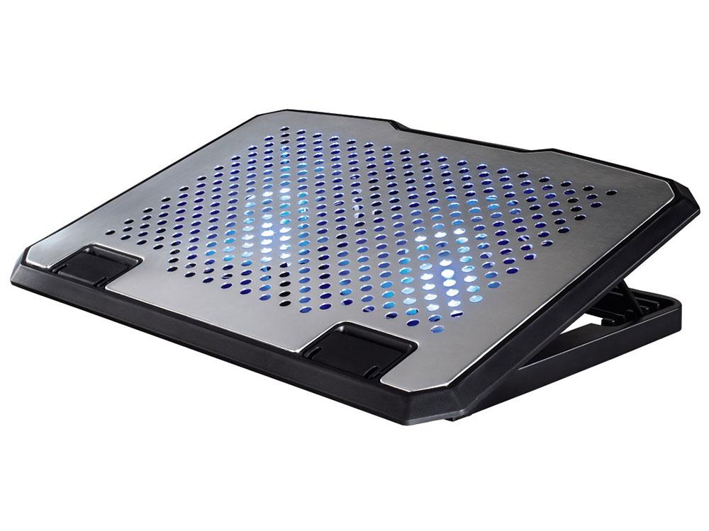 Подставка для ноутбука Hama H-53064 охлаждающая серебристый охлаждающая подставка для ноутбука pc pet nbs 31c silver