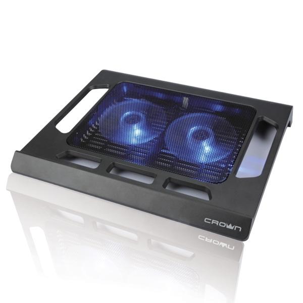 Подставка для ноутбука 15.6 Crown CMLS-937 290x350x45mm USB 510g черный подставка для ноутбука барышня handy home