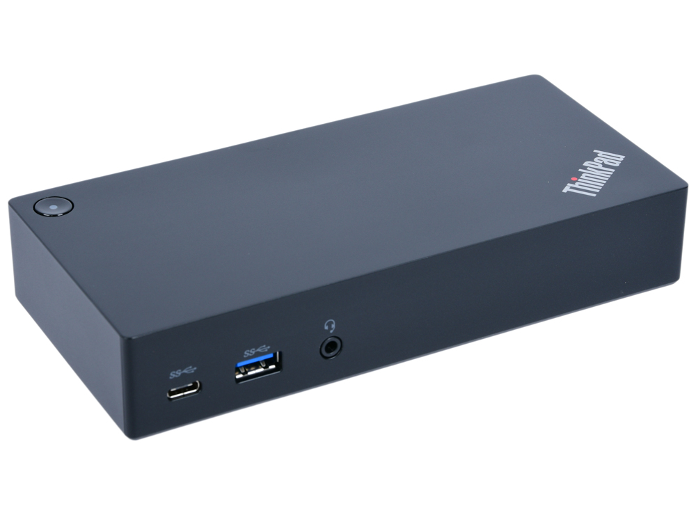 Док-станция Lenovo ThinkPad USB-C Dock для TP13 T470 T570 40A90090EU док станция auzer android голубой
