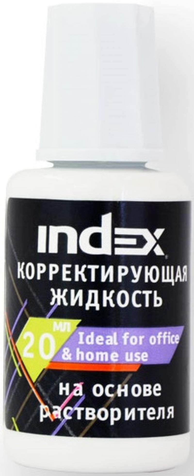 цена на Корректирующая жидкость Index ICF20 20 мл