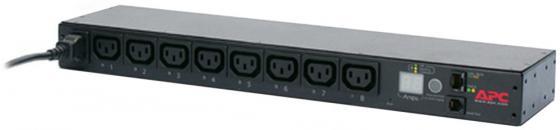 Блок распределения питания APC Rack Switched 1U 16A (8)C13 AP7921B блок распределения питания apc rack pdu basic 1u 16a 208 230v 12 c13