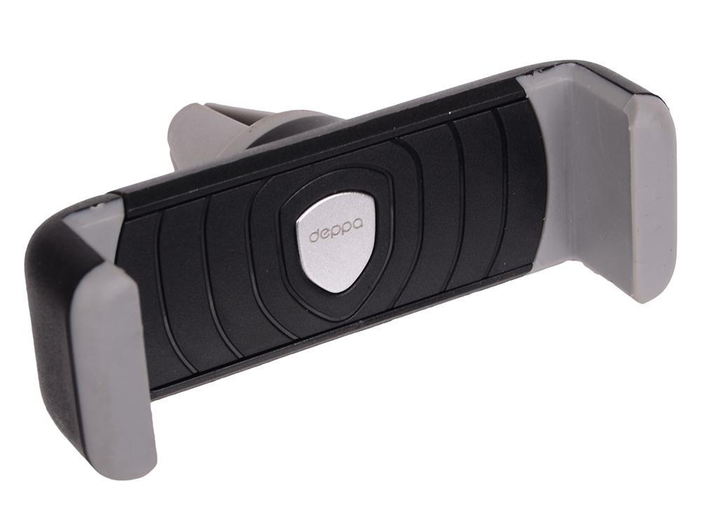 Фото - Автомобильный держатель Deppa Crab Air mini для смартфонов 3.5-5, крепление на вентиляционную решетку car holder crab iq for smart phone 4 6 5 deppa