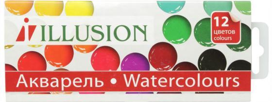 Акварель Гамма Illusion 12 цветов 212086 moyou london illusion 07