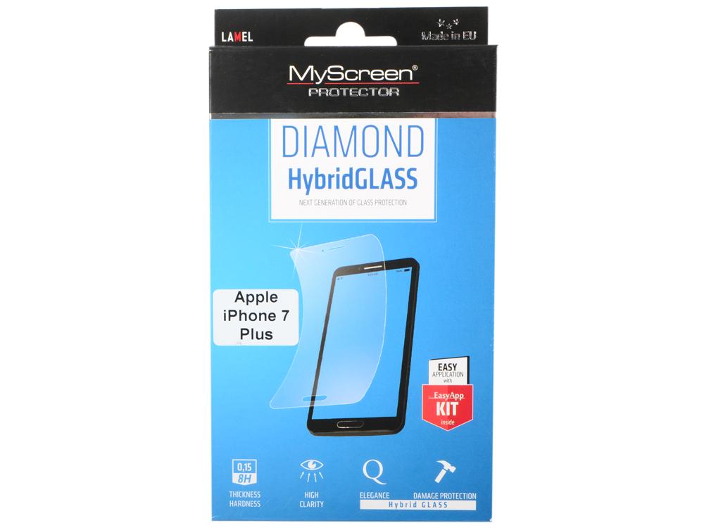 пленка Защитная Lamel Гибридное стекло DIAMOND HybridGLASS EA Kit iPhone 7 Plus пленка защитная lamel 3d закаленное защитное стекло myscreen 3d diamond glass ea kit black iphone x