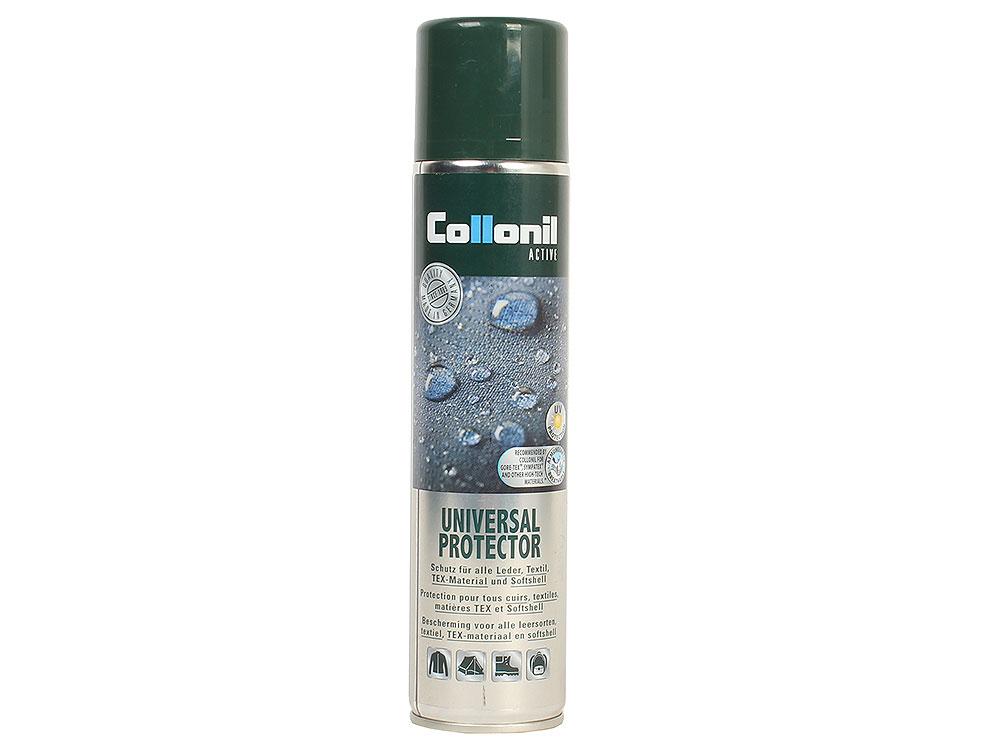 Спрей-пропитка универсальная Collonil Universal Protector 300 мл (для одежды и туристического оборудования из всех видов кожи, текстиля, Hi-tech и мяг