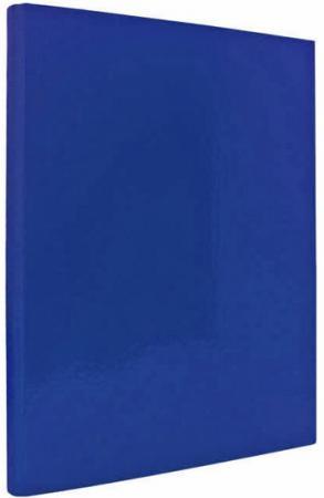 Папка с прижимным механизмом ламинированная INDEX, синяя IND PR СИН папка luxe синяя