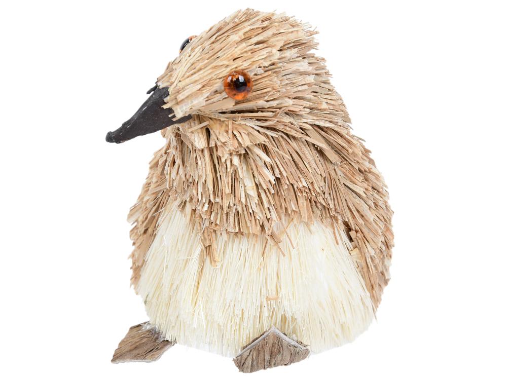 Украшение Winter Wings Пингвин 7*5*8 см 1 шт коричневый соломка украшение елочное звезда барокко 8 8 см черный золотой 1 шт в пакете
