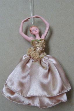 Украшение декоративное Балерина, 16 см, полирезин