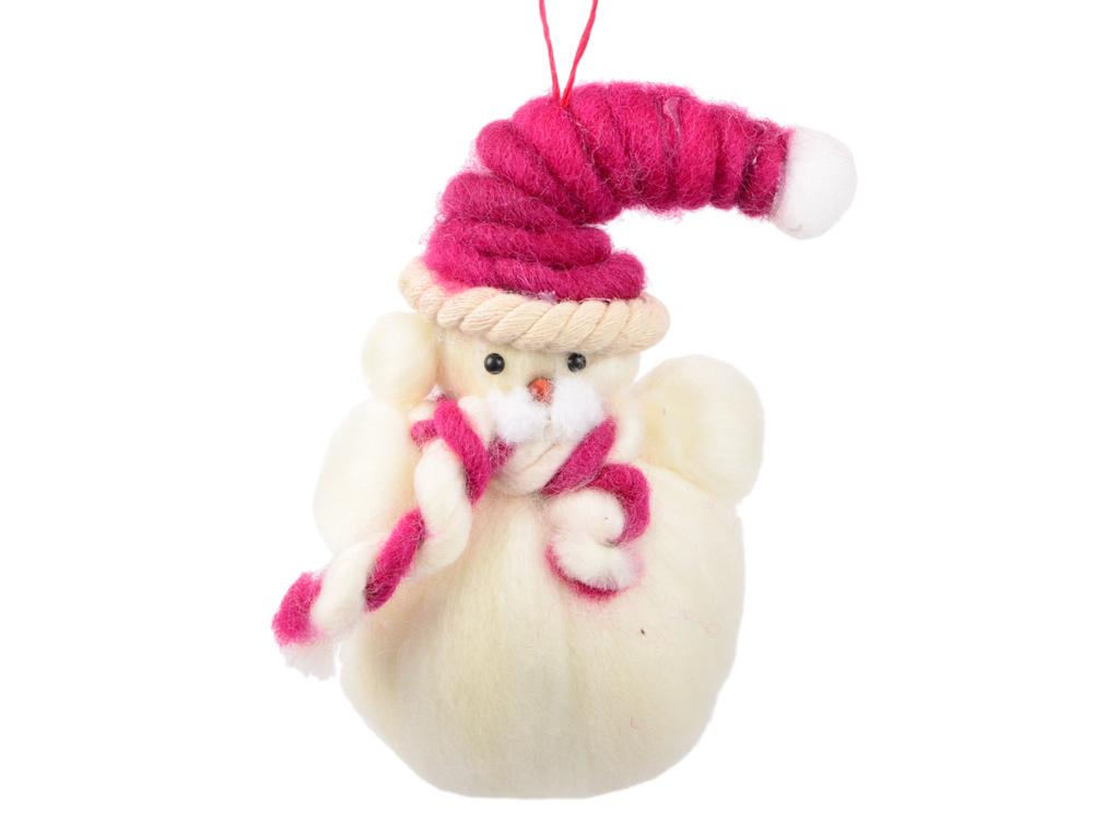 Елочные украшения Winter Wings Мишка 13*8 см 1 шт белый полиэстер N180394 елочные украшения новогодняя сказка мишка голубой 8 5 см 4 шт пластик 97714