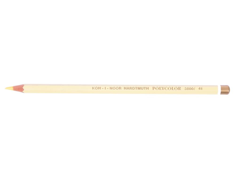 Карандаш художественный POLYCOLOR, бананово-желтый карандаш художественный polycolor кобальтово синий