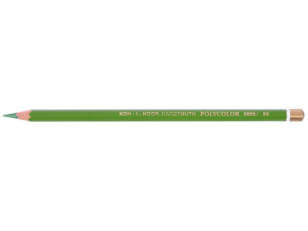 Карандаш художественный POLYCOLOR, зеленый карандаш художественный polycolor кобальтово синий