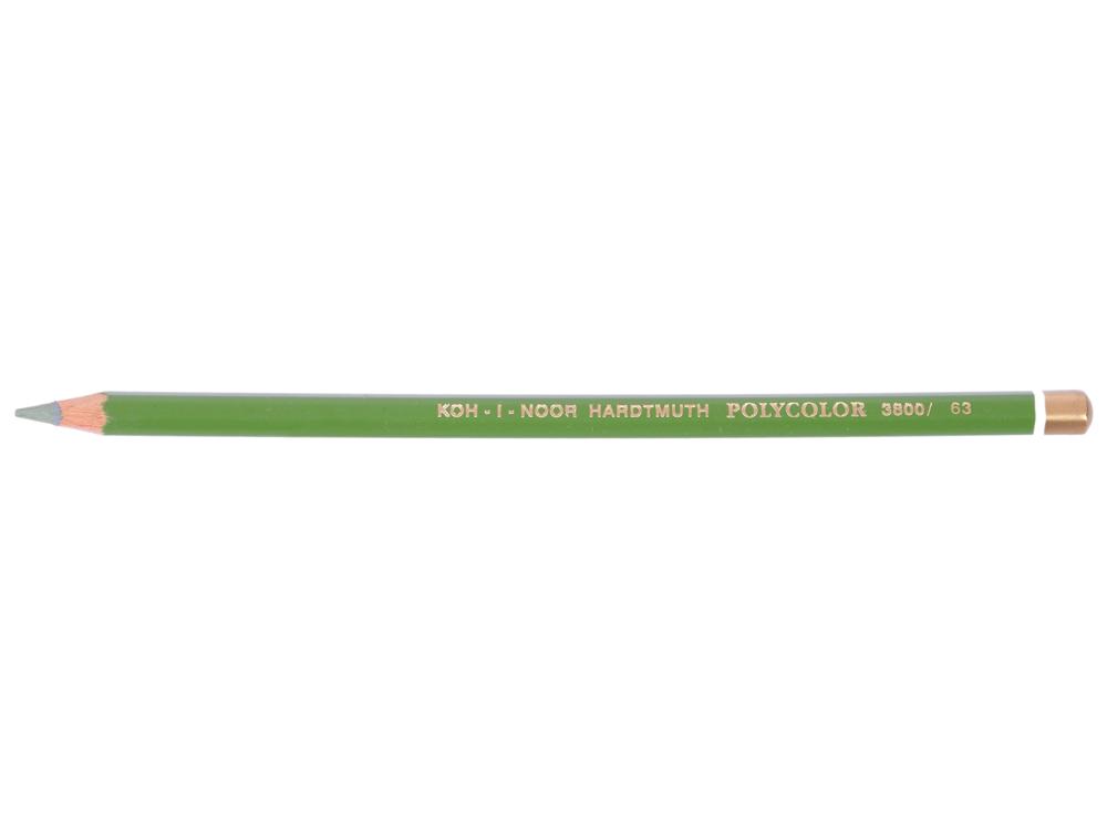 Карандаш художественный POLYCOLOR, светло-зеленый карандаш художественный polycolor кобальтово синий