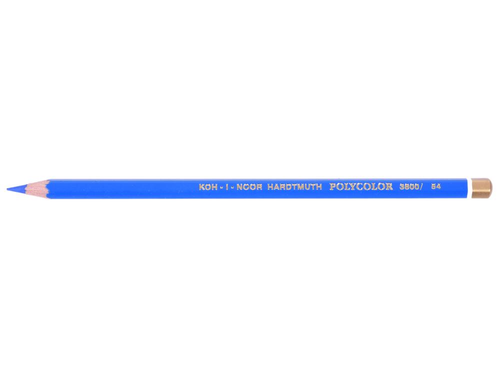 Карандаш художественный POLYCOLOR, небесно-голубой карандаш художественный polycolor кобальтово синий