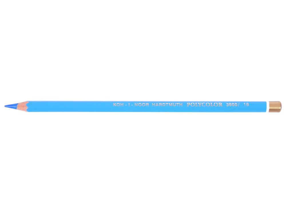 Карандаш художественный POLYCOLOR, светло-голубой карандаш художественный polycolor кобальтово синий