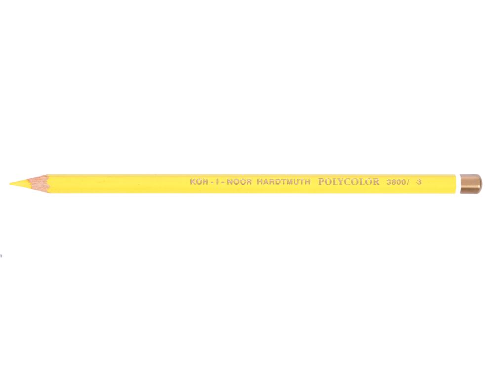 Карандаш художественный POLYCOLOR, желтый карандаш художественный polycolor кобальтово синий