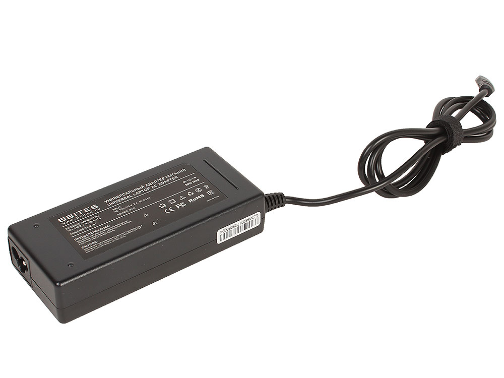 Универсальный адаптер питания 5bites PA90L-07 90W для ноутбуков LENOVO (M2, M11, M25, M28) 5bites pa70l 03 адаптер питания для ноутбуков 70 вт