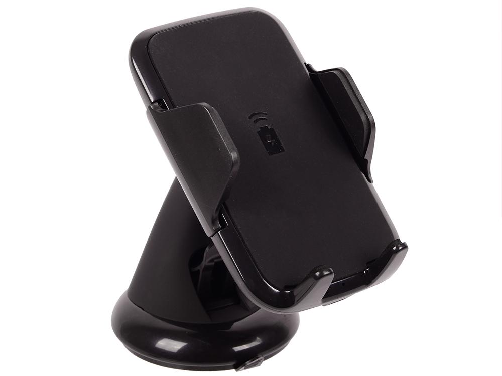 цена на Автомобильный держатель Deppa Crab Qi для смартфонов 3.5-5.9, крепление на лобовое стекло и вентиляционную решетку