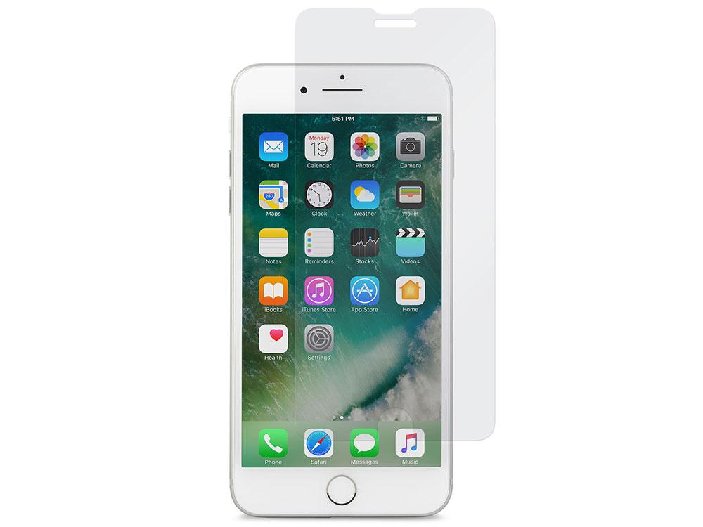 Защитное стекло Moshi AirFoil Glass для iPhone 8/7/6s/6 Plus 99MO076012 защитное стекло для iphone 8 plus 7 plus cellular line tempglassiph755