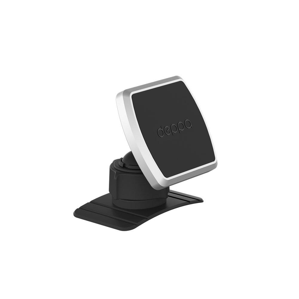 Картинка для Автомобильный держатель Deppa Mage Mount для смартфонов, магнитный, крепление на приборную панель, черный