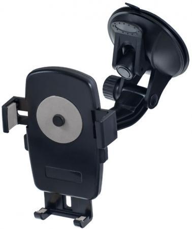 Автомобильный держатель Perfeo PH-528 до 6 на стекло черный автомобильный держатель perfeo ph 520 до 6 5 на стекло черный серый