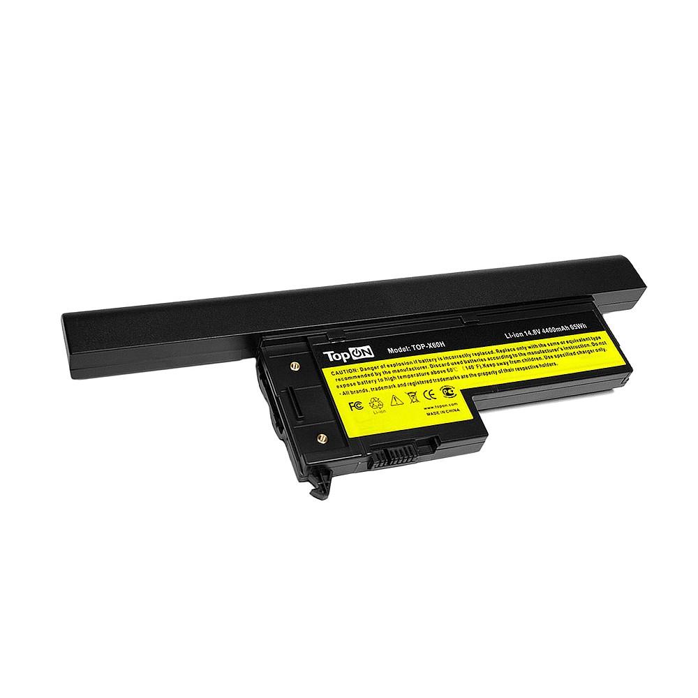 Аккумуляторная батарея TopON TOP-X60H 5200мАч для ноутбуков аккумуляторная батарея topon top 1535h 7200мач для ноутбуков dell studio 1535 1536 1537 1555 1557 15