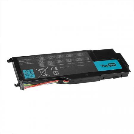 Аккумулятор для ноутбука TopON TOP-XPS14 для Dell XPS 14Z, 15Z, L412Z, L511X, L511Z Series, 3800мАч, 14.8V