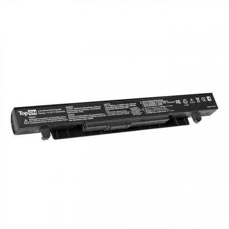Аккумулятор для ноутбука TopON TOP-X550 для Asus X550, X550D, X550A, X550L, X550C, X550V Series 2200мАч 14.4V клавиатура topon gateway nx570 pn v030946bs1 top 100507 черный