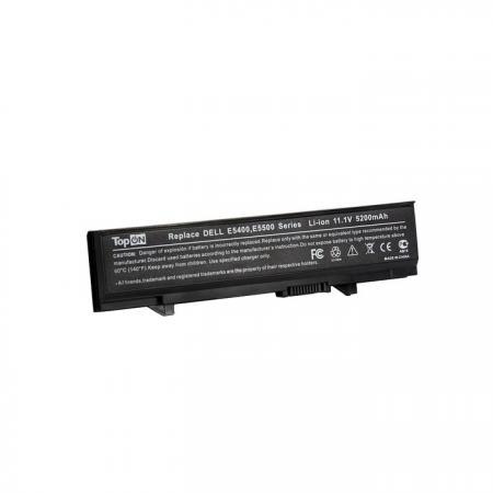 Аккумулятор для ноутбука Dell Latitude E5400, E5410, E5500, E5510 Series 5200мАч 11.1V TopON TOP-E54 аккумулятор для ноутбука dns 0162456 0150166 0137235 series 4400мач 11 1v topon top dn450