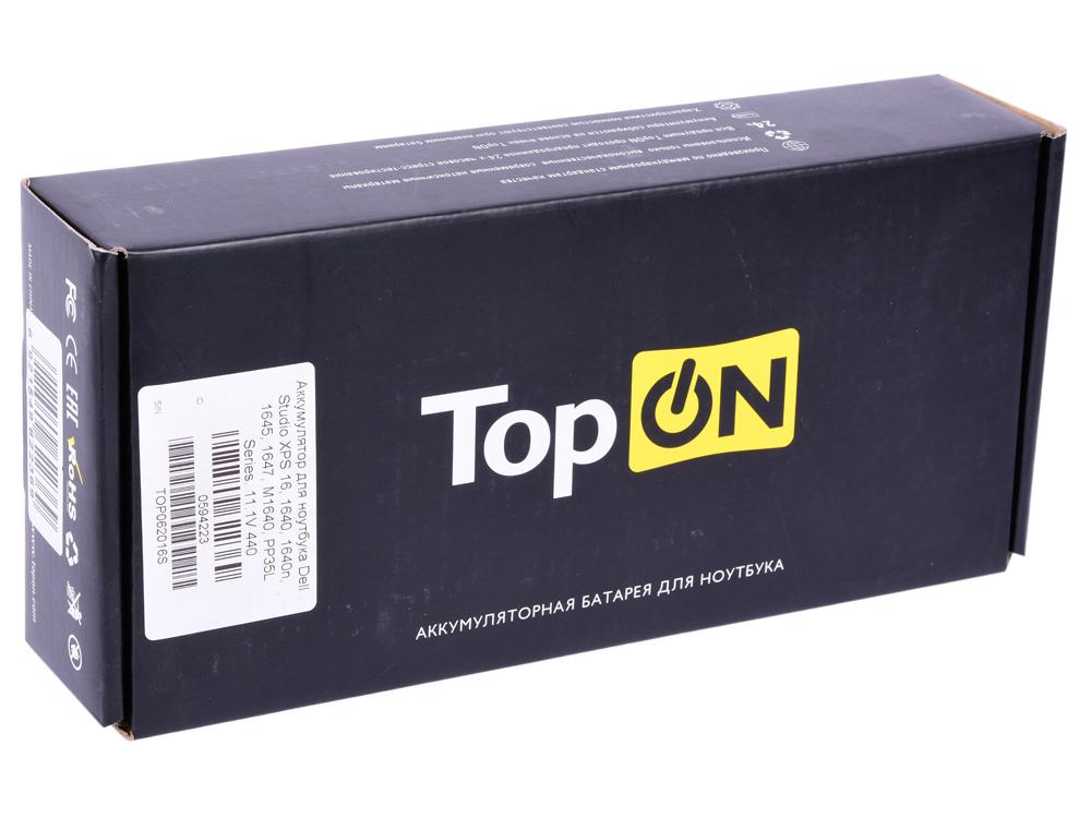 Аккумулятор для ноутбука Dell Studio XPS 16, 1640, 1640n, 1645, 1647, M1640, PP35L Series. 11.1V 440 аккумулятор для ноутбука dell latitude d810 precision m70 series 4400мач 11 1v topon top dl810