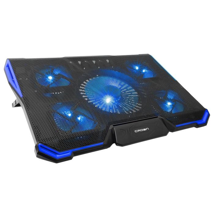 лучшая цена Подставка для ноутбука CROWN CMLS-k331 BLUE ( до 19