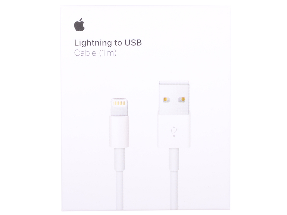 Кабель Apple Lightning to USB Cable (1 m) MQUE2ZM/A кабель