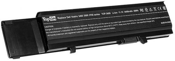 Аккумулятор для ноутбука TopON TOP-3400 для Dell Vostro 3400 3500 3700 4400мАч 11.1V цена и фото