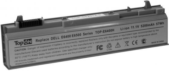 Аккумулятор для ноутбука TopON TOP-E6400 для Dell Latitude E6400, E6410, E6500, E6510, Precision M2400, M4400, M4500 комплектующие и запчасти для ноутбуков dell dell dell latitude e6500 wifi