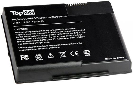 Аккумулятор для ноутбука TopON TOP-NX7000 для HP Presario X1000, X1100, X120, X130, Pavilion ZT3000, ZT3100, ZT3200, ZT33 цена